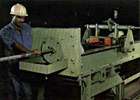Draw bench machine used for manufacture of stainless steel Bright Bars - Hexagon and Square