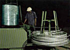 Manufacturing of stainless steel bright wire